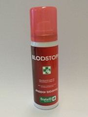 Blodstopp, Spray